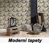 Moderní tapeta do ložnice