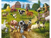 3D Fototapeta Walltastic Farma 41806 | 305x244 cm Fototapety skladem