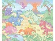 3D Fototapeta Walltastic Baby Dino 40618   305x244 cm Fototapety