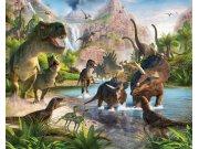 3D Fototapeta Walltastic Dinosauři 41745 | 305x244 cm Fototapety skladem