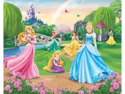 3D Fototapeta Walltastic Princezny 42087 | 305x244 cm Fototapety