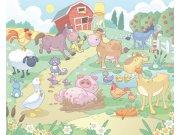 3D Fototapeta Walltastic Baby Farma 40601 | 305x244 cm Fototapety skladem