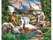 3D Fototapeta Walltastic Jungle 41776 | 305x244 cm Fototapety skladem