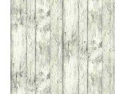 Tapeta obklad staré dřevo béžová 35867-1 Tapety skladem