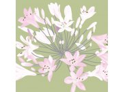 Fototapeta Růžová květiny L-342   220x220 cm Fototapety