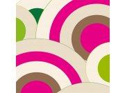 Fototapeta Velké růžová kruhy L-383 | 220x220 cm Fototapety