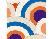 Fototapeta Velké modré kruhy L-384 | 220x220 cm Fototapety
