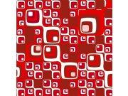 Fototapeta Červené čtverečky L-391 | 220x220 cm Fototapety