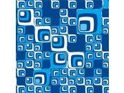 Fototapeta Modré čtverečky L-393 | 220x220 cm Fototapety