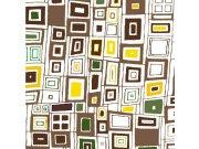 Fototapeta Hnědožluté čtverce L-412 | 220x220 cm Fototapety