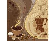 Fototapeta Příprava kávy L-434 | 220x220 cm Fototapety