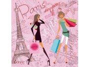 Fototapeta Pařížský styl L-436 | 220x220 cm Fototapety
