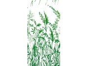 Fototapeta Zelená tráva S-326 | 110x220 cm Fototapety