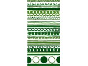 Fototapeta Zelený vzor S-394 | 110x220 cm Fototapety