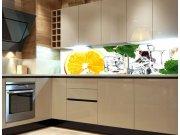 Samolepící Fototapeta do kuchyně Citron KI-180-023 Fototapety skladem