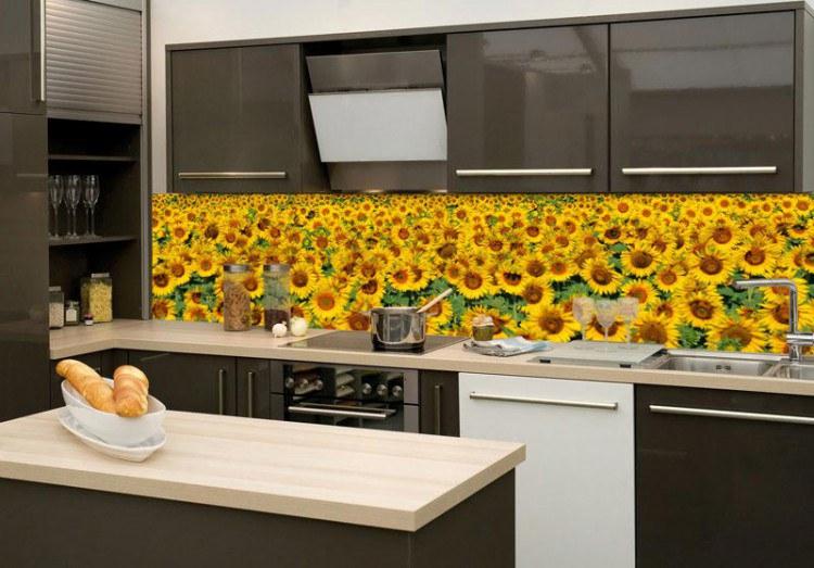 Fototapeta do kuchyně Slunečnice KI-180-030 - Fototapety