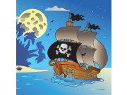 Fototapeta Pirátská loď L-278 | 220x220 cm Fototapety