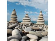 Fototapeta Kameny na pláži L-172 | 220x220 cm Fototapety