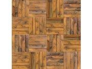 Fototapeta Dřevěná mozaika L-161 | 220x220 cm Fototapety