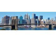 Fototapeta Brooklynský most z dálky M-101 | 330x110 cm Fototapety