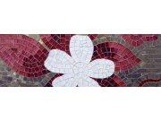 Fototapeta Červená mozaika M-164 | 330x110 cm Fototapety