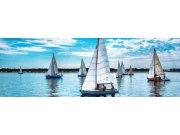 Fototapeta Plující regatta M-160   330x110 cm Fototapety