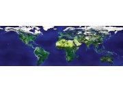 Fototapeta Mapa světa M-133   330x110 cm Fototapety