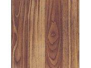Samolepicí podlahové pvc čtverce tmavé dřevo v latích Samolepící dlažba