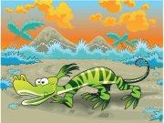 Fototapeta AG Krokodýl FTXXL-0098 | 360x255 cm Fototapety