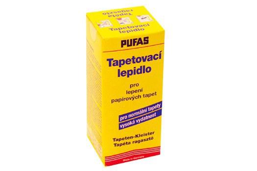 Lepidlo Pufas na lepení papírových tapet - Lepidla, Penetrace, Tmely, Odstraňovače