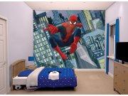 3D Fototapeta Walltastic Spiderman 43824 | 305x244 cm Fototapety