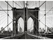 Fototapeta AG Brooklyn Bridge FTNM-2664 | 160x110 cm Fototapety