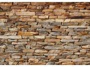 Fototapeta AG Hnědá kamenná zeď FTNS-2481 | 360x270 cm Fototapety