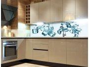 Samolepicí Fototapeta do kuchyně Ice Cubes KI-180-002 Fototapety skladem