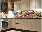 Samolepicí Fototapeta do kuchyně Graffiti KI-180-020 Fototapety