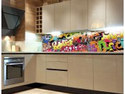 Fototapeta do kuchyně Graffiti KI-260-020 Fototapety