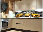 Fototapeta do kuchyně Žluté taxi KI-260-041 Fototapety