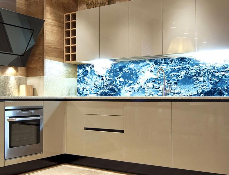 Fototapeta do kuchyně Perlivá voda KI-260-060 - Fototapety