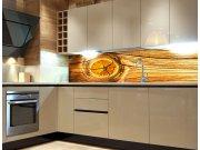 Samolepicí Fototapeta do kuchyně Wood Knot KI-180-061 Fototapety