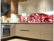 Fototapeta do kuchyně Červený krystal KI-260-071 Fototapety