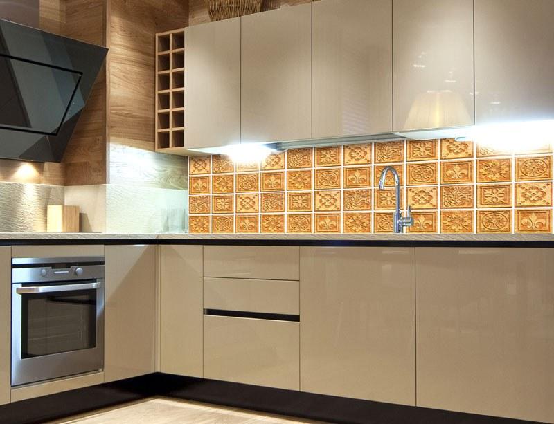 Fototapeta do kuchyně Žulová kachličky KI-260-080 - Fototapety