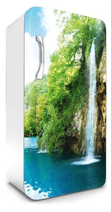 Samolepicí Fototapeta na lednici Vodopád FR-120-010 - Fototapety