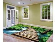Samolepicí Fototapeta na podlahu Dřevěná lávka FL-255-002 Fototapety