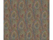 Tapeta Etro abstrakce tyrkysová 513912 | lepidlo zdarma Rasch