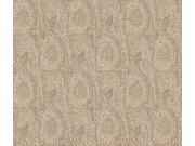 Tapeta Etro abstrakce bílá káva 513943 | lepidlo zdarma Rasch