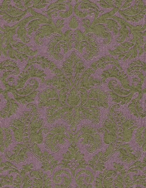 Tapeta Etro ornamenty zeleno fialová 515817 | lepidlo zdarma - Rasch