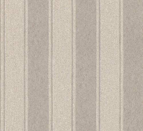 Tapeta Etro pruhy šedo béžová 515947 | lepidlo zdarma - Rasch