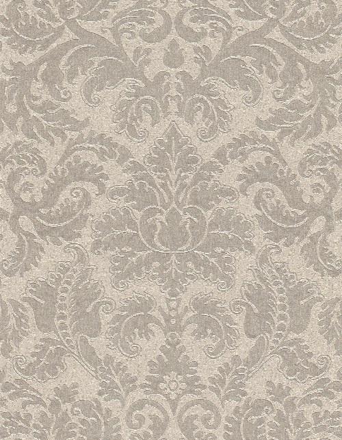 Tapeta Etro ornamenty šedo béžová 515848 | lepidlo zdarma - Rasch
