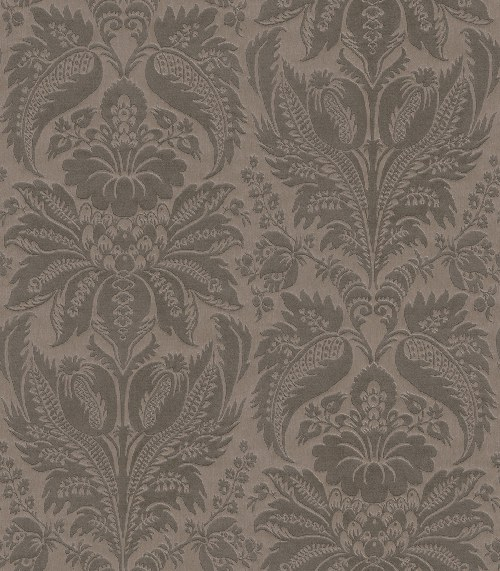 Tapeta Etro ornamenty šedo antracitová 517620 | lepidlo zdarma - Rasch