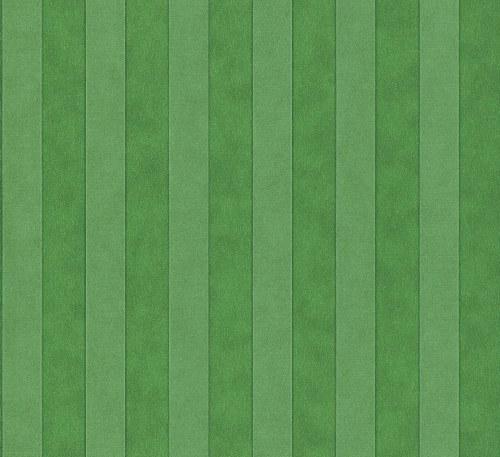 Tapeta Etro pruhy brčálově zelené 517736 | lepidlo zdarma - Rasch